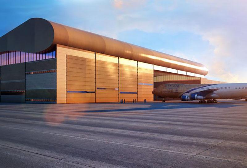 Gulf Air Hangar, Bahrain